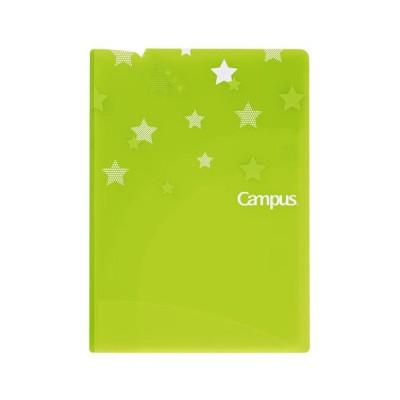 コクヨ キャンパスプリントファイル見開き A4 ライトグリーン フ-C755LG