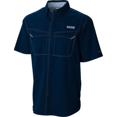 コロンビア シャツ トップス メンズ Columbia Men's PFG Low Drag Offshore Short Sleeve Shirt CollegiateNavy