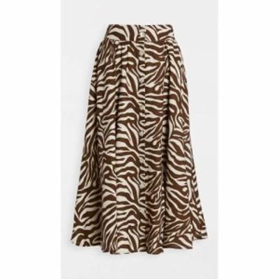 アンダマン The Andamane レディース スカート diletta skirt Zebra Natural