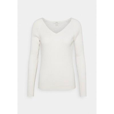 エスプリ ニット&セーター レディース アウター DEEP - Jumper - off white