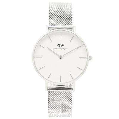 「P10%還元 10/24限定」ダニエルウェリントン 腕時計 レディース Daniel Wellington DW00100164 ホワイト シルバー