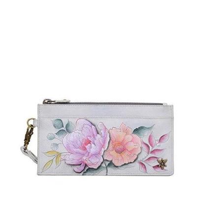 Anuschka Women's Genuine Leather Organizer Wallet - Hand Painted Original Artwork - Bel Fiori【並行輸入品】