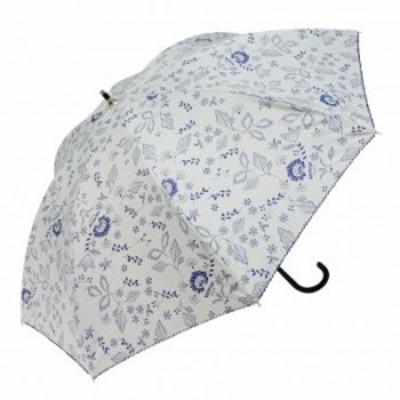【送料無料】Fair mode 晴雨兼用傘 50cm ショート フラワーレジェール SS-2025 ホワイト【生活雑貨館】