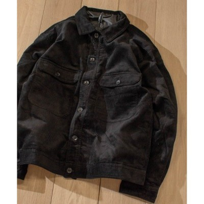 ジャケット ブルゾン 【i】太畝コーデュロイデカポケジャケット