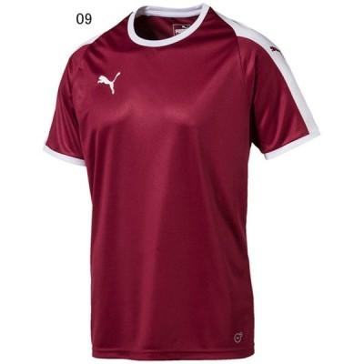プーマ サッカー ユニフォーム ゲームシャツ LIGA ゲームシャツ コードバン×プーマホワイト 09 PU-703637-09