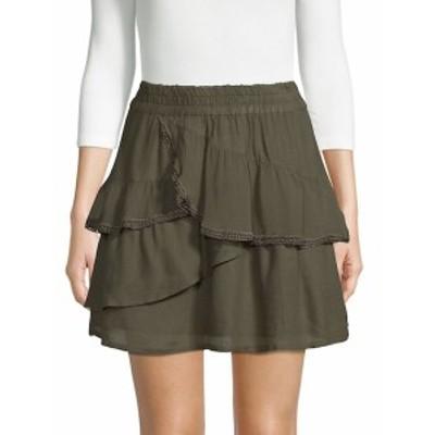 イロ レディース スカート Carmela Ruffled Mini Skirt