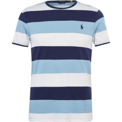 ラルフ ローレン Polo Ralph Lauren メンズ Tシャツ トップス T Shirt Powder Blue