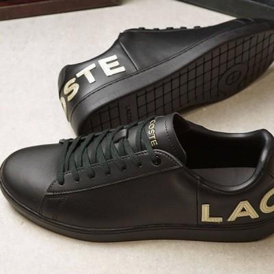 ラコステ LACOSTE スニーカー カーナービー エヴォ M CARNABY EVO 0120 5 SM00860-1V7 FW20 メンズ ローカットシューズ 靴 BLK GLD ブラック系