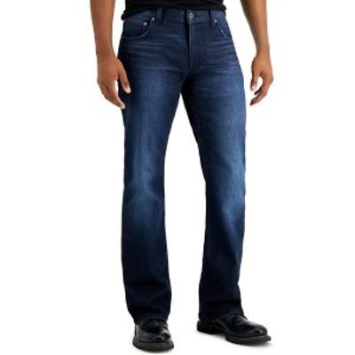 アイエヌシーインターナショナルコンセプト メンズ デニムパンツ ボトムス INC Men's Seaton Boot Cut Jeans,  Dark Wash