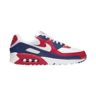 (取寄)ナイキ メンズ シューズ エア マックス 90 Nike Men's Shoes Air Max 90White White Deep Royal University Red