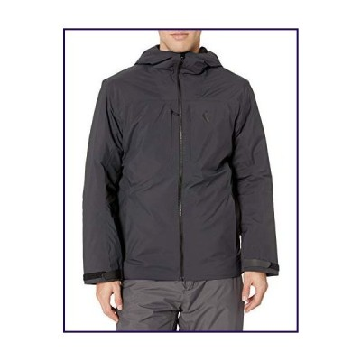 Black Diamond Men's M Mission Down Parka, Smoke, Medium【並行輸入品】