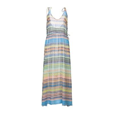 ME FUI ロングワンピース&ドレス グリーン L ポリエステル 100% ロングワンピース&ドレス