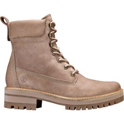 ティンバーランド Timberland レディース ブーツ シューズ・靴 Courmayeur Valley Boots Taupe Nubuck