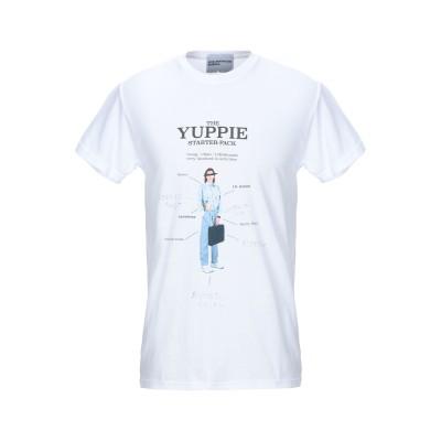 HUGE UNDERGROUND BUSINESS T シャツ ホワイト S コットン 100% T シャツ