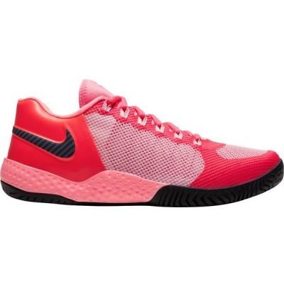 ナイキ スニーカー シューズ レディース Nike Women's NikeCourt Flare 2 QS Tennis Shoes Red/Blue