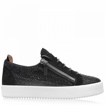 ジュゼッペ ザノッティ GIUSEPPE ZANOTTI メンズ スニーカー シューズ・靴 Crystal All Over May Trainers Black