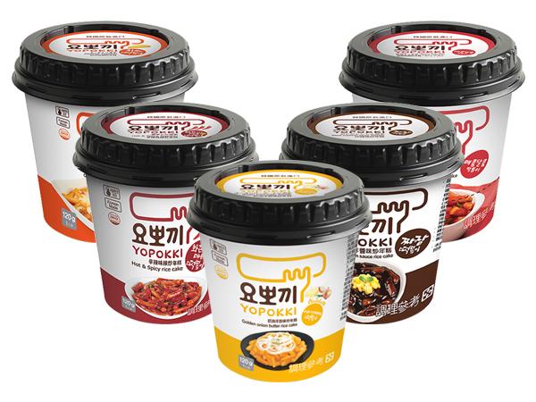 韓國 Yopokki~辣炒年糕即食杯(1杯裝) 款式可選【D400741】