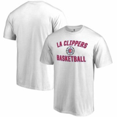 Fanatics Branded ファナティクス ブランド スポーツ用品  LA Clippers White Victory Arch T-Shirt