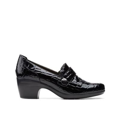 クラークス パンプス シューズ レディース Collection Women's Emily Andria Pumps Black Croc