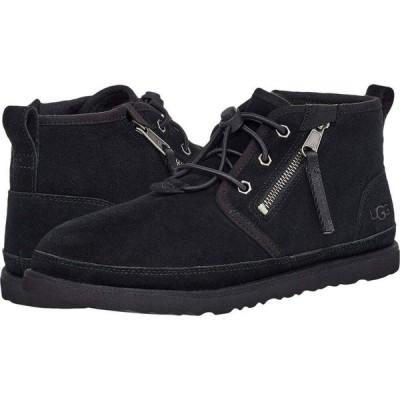 アグ UGG メンズ ブーツ シューズ・靴 Neumel Dual Zip Boot Black