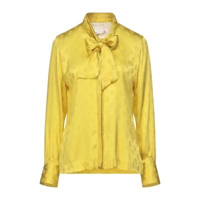 LE SARTE PETTEGOLE シャツ イエロー 40 アセテート 80% / シルク 20% シャツ