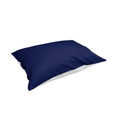 枕カバー 43×63cm 高級綿100% サテン織り 300本高密度 光沢がある 選べる7色 3サイズ ピローケース 色褪せない 防ダニ 抗