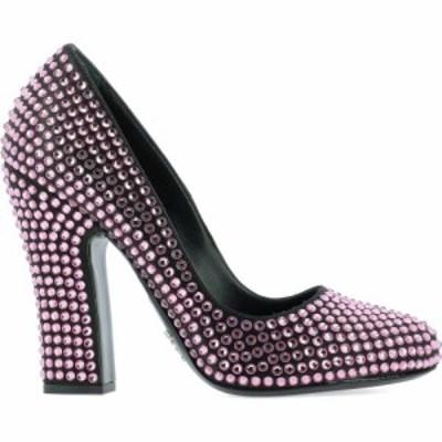 プラダ Prada レディース パンプス シューズ・靴 Crystals Pump Pink
