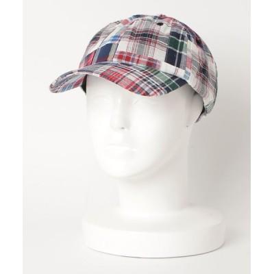 INNOCENT / チェック柄 キャップ MEN 帽子 > キャップ