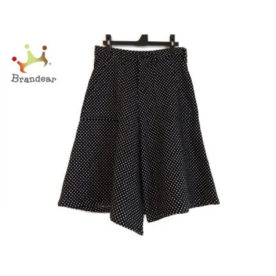 ワイズ Y's スカート サイズ1 S レディース 黒×白 ドット柄 新着 20200728