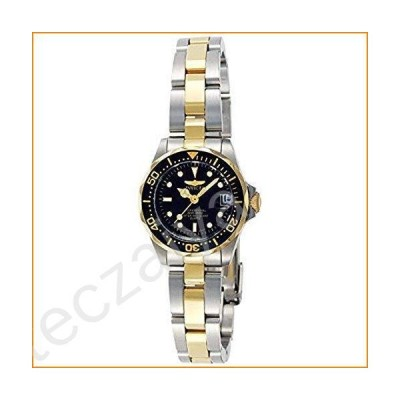 Invicta Women's Pro Diver 24.5mm Steel and Gold Tone Stainless Steel Quartz Watch, Two Tone/Black (Model: 8941)並行輸入品