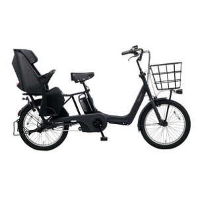 パナソニック Panasonic 20型 電動アシスト自転車 ギュット・アニーズ・DX(マットジェットブラック/内装3段変速)「2020年モデル」【組立商品につき返品不可】 MJブラック BE_ELAD032B