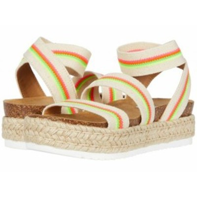 Steve Madden スティーブマデン レディース 女性用 シューズ 靴 サンダル Kimmie Espadrille Sandal Bright Multi【送料無料】