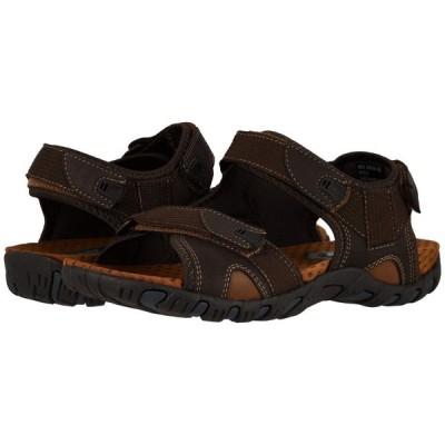 ナンブッシュ Nunn Bush メンズ サンダル シューズ・靴 Rio Bravo 3-Strap River Sandal Brown