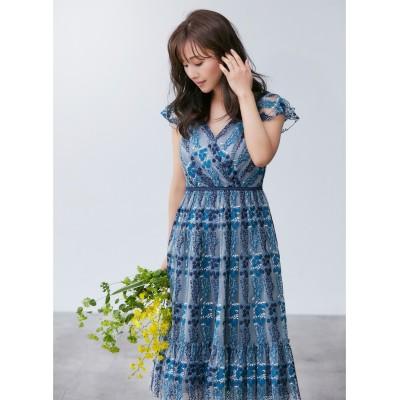 【TOCCA LAVENDER】Floral Lace ドレス