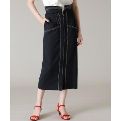 【エフデーゼ/EFDEISEE】 《Maglie par ef-de》ペプラムタイトスカート