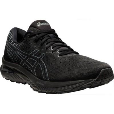 アシックス スニーカー シューズ メンズ GEL-Cumulus 22 Running Sneaker (Men's) Black/Carrier Grey