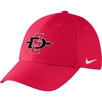 ナイキ Nike メンズ キャップ 帽子 San Diego State Scarlet Adjustable Hat