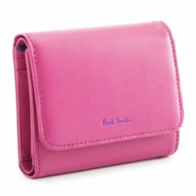 ポールスミス 財布 三つ折り財布 ピンク Paul Smith pwd014-24 レディース 婦人