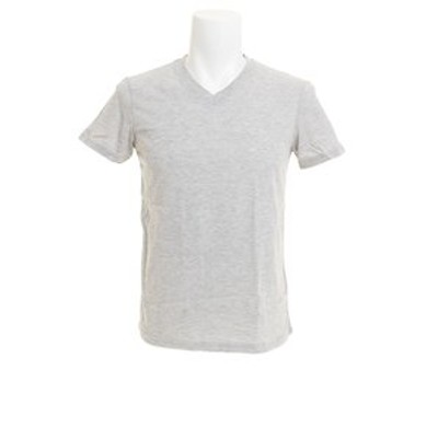 無地 Vネック Tシャツ 871Q8JY2070MGRY オンライン価格