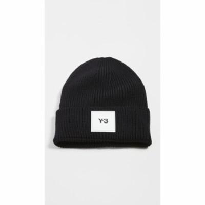ワイスリー Y-3 メンズ ニット 帽子 Merino Wool Beanie Black