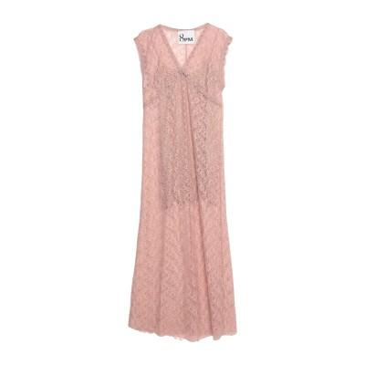 8PM ロングワンピース&ドレス パステルピンク XXS コットン 70% / ナイロン 30% ロングワンピース&ドレス