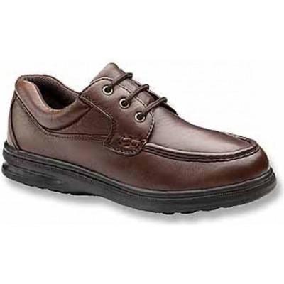 ハッシュパピー HUSH PUPPIES メンズ 革靴・ビジネスシューズ ダービーシューズ シューズ・靴 Gus Moc Toe Derby Dark Brown Leather