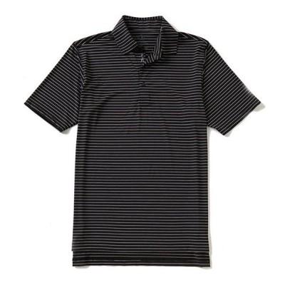 ボビージョーンズ メンズ シャツ トップス Golf Performance Poly Line Stripe Polo