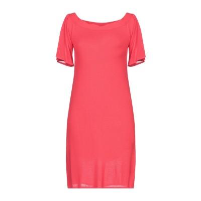 CRISTINAEFFE ミニワンピース&ドレス レッド 42 レーヨン 98% / ポリウレタン 1% / ナイロン 1% ミニワンピース&ドレス
