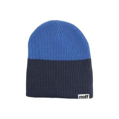 帽子 ネフ Neff Duo ビーニー ネイビー/ブルー ワンサイズ