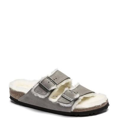 ビルケンシュトック レディース サンダル シューズ Women's Arizona Suede Shearling Sandals