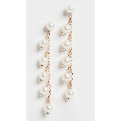 ミズキ Mizuki レディース イヤリング・ピアス ジュエリー・アクセサリー Pearl Drop & Stud Earrings Gold