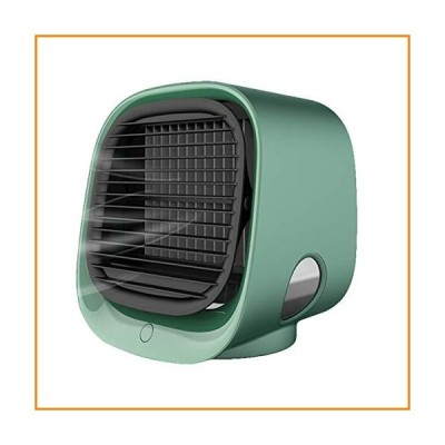 NCONCO USB Air Cooler Fan, Portable Air Conditioner Fan 3 Speeds Silent Humidifier Air Cooling Fan for Home Office【並行輸入品】