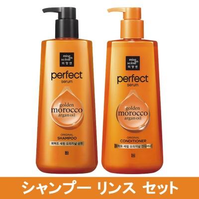 [Miseenscene] ミジャンセン パーフェクトセラム セット Perfect serum Shampoo1+Rinse1 set