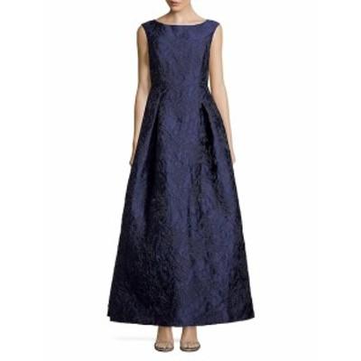 カールラガーフェルド レディース ワンピース Social Textured Evening Gown